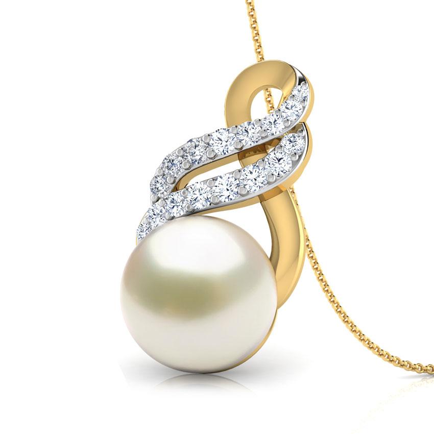 Glaze Pearl Pendant