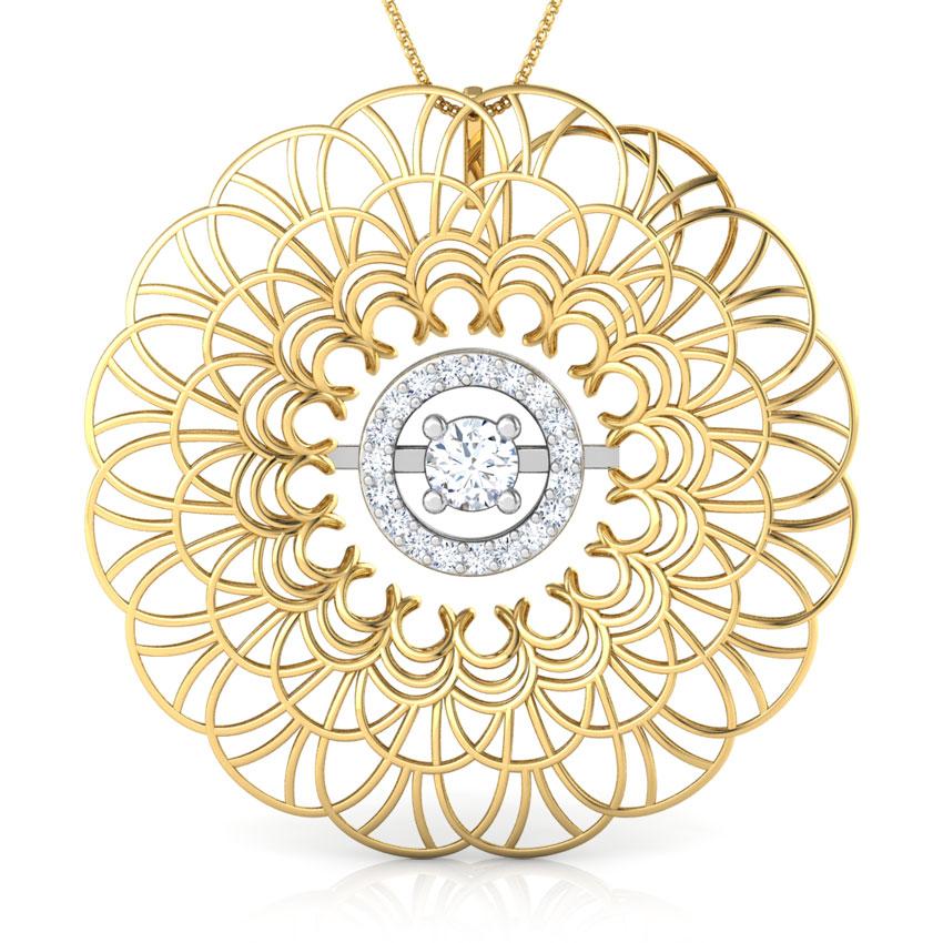 Paula Trellis Diamond Pendant
