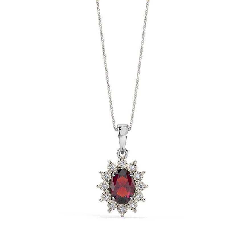 Haze Royal Diamond Pendant