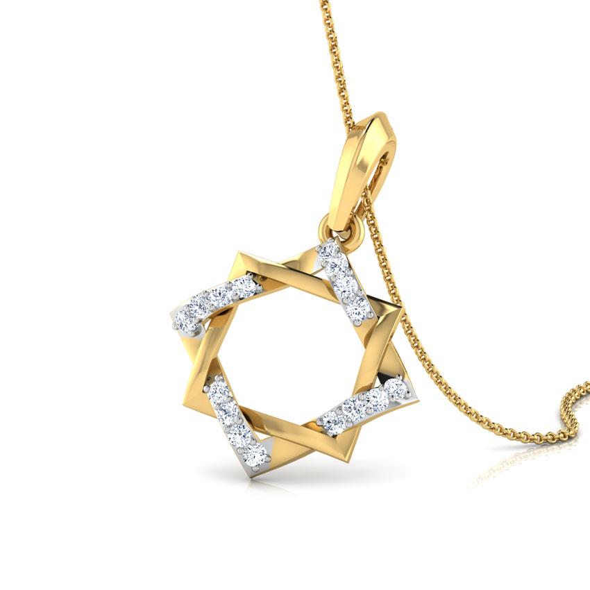 Twine Star Pendant