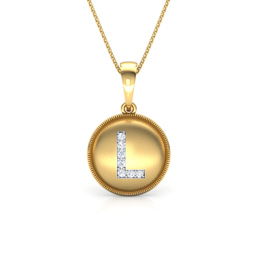 Alphabet L Pendant
