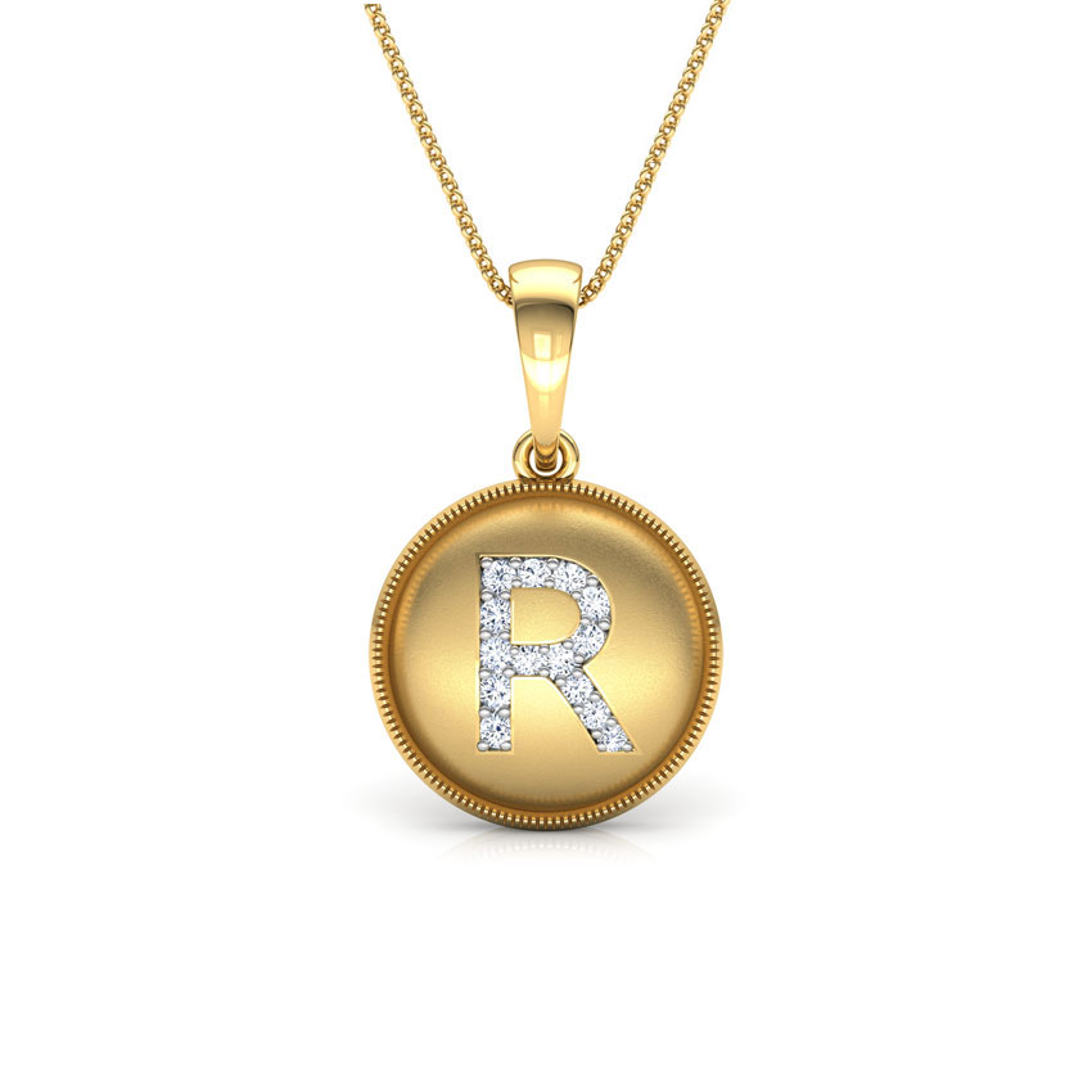 Alphabet R Pendant