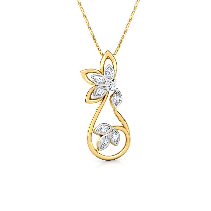 Glinting Petals Pendant