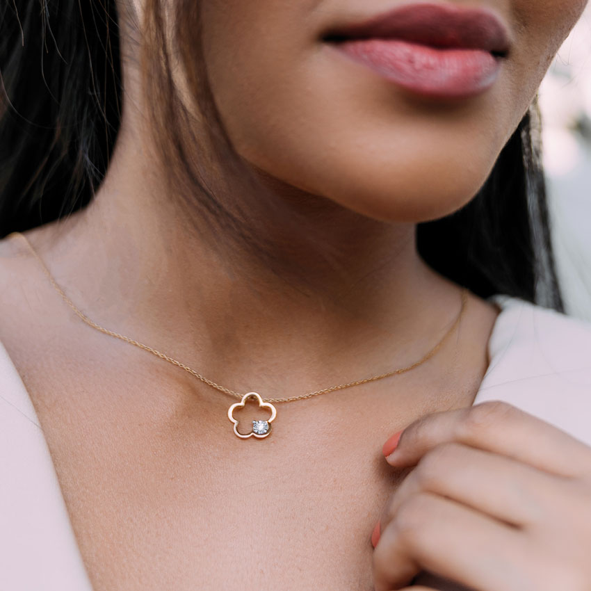 Buttercup Miracle Plate Pendant