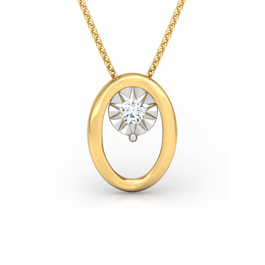 Oval Miracle Plate Pendant