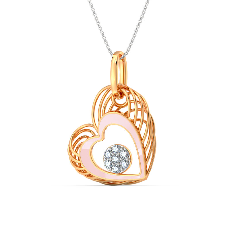In Love Lattice Pendant