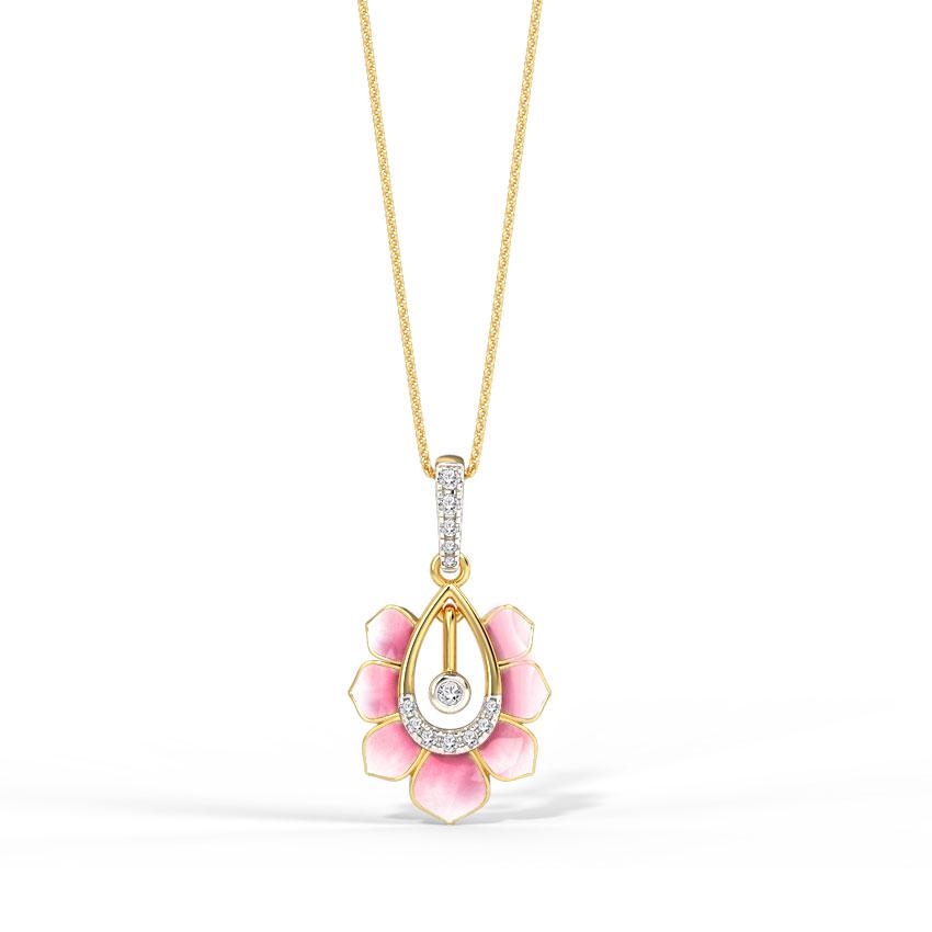 Allure Lotus Pendant