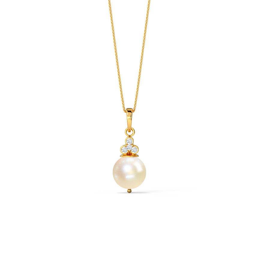 Budding Pearl Pendant