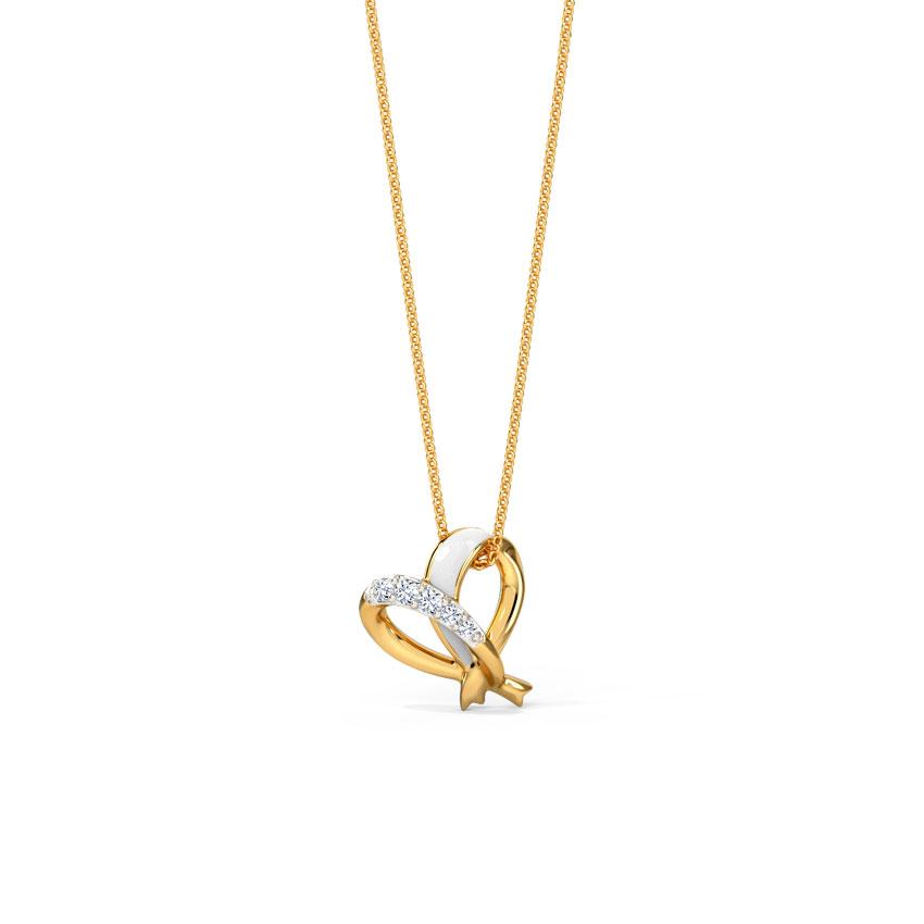 Ivory Heart Pendant