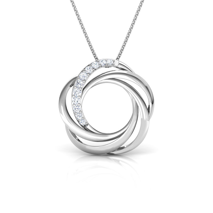 Sparkling Whirl Pendant