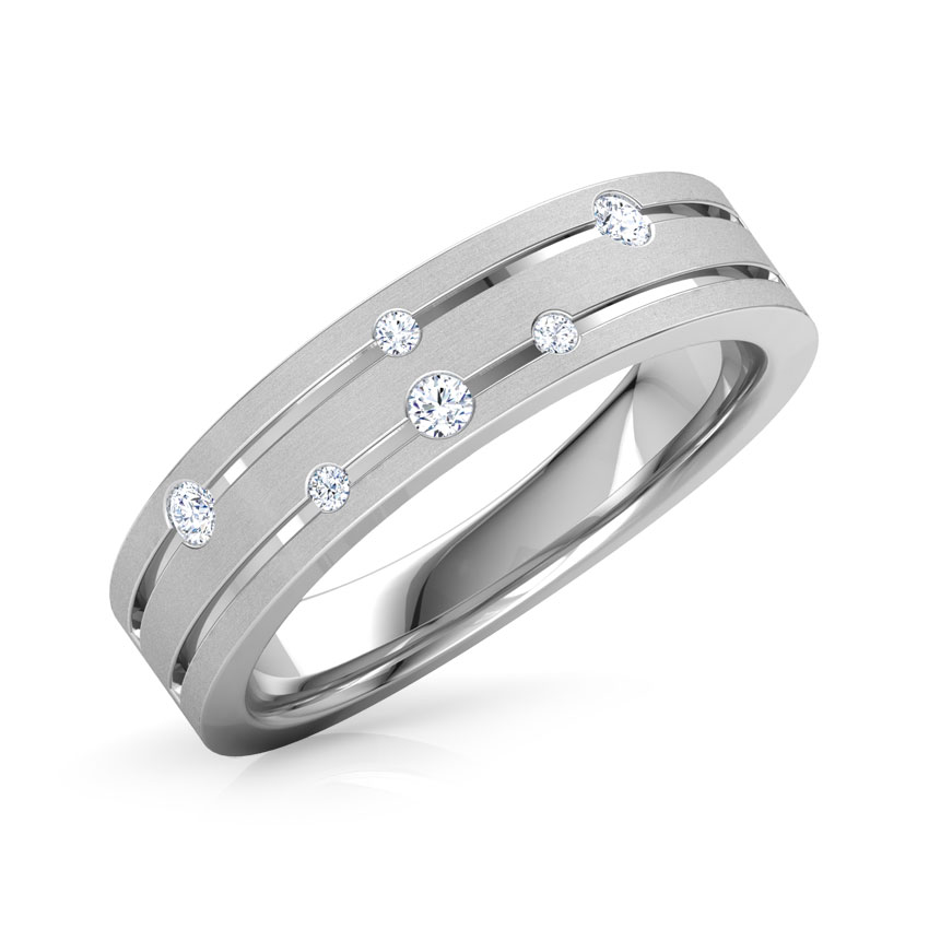 Spiral Constellation Ring