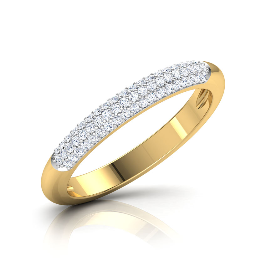 Cluster Finish Diamond Band