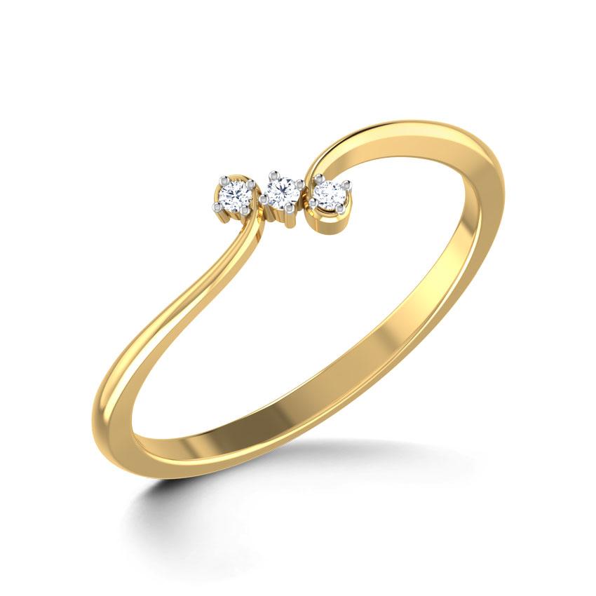 Hooked Hamesha Ring