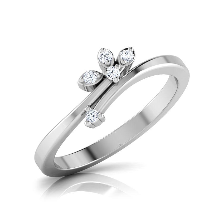 Diamond Rings 18 Karat White Gold Celestina Diamond Ring