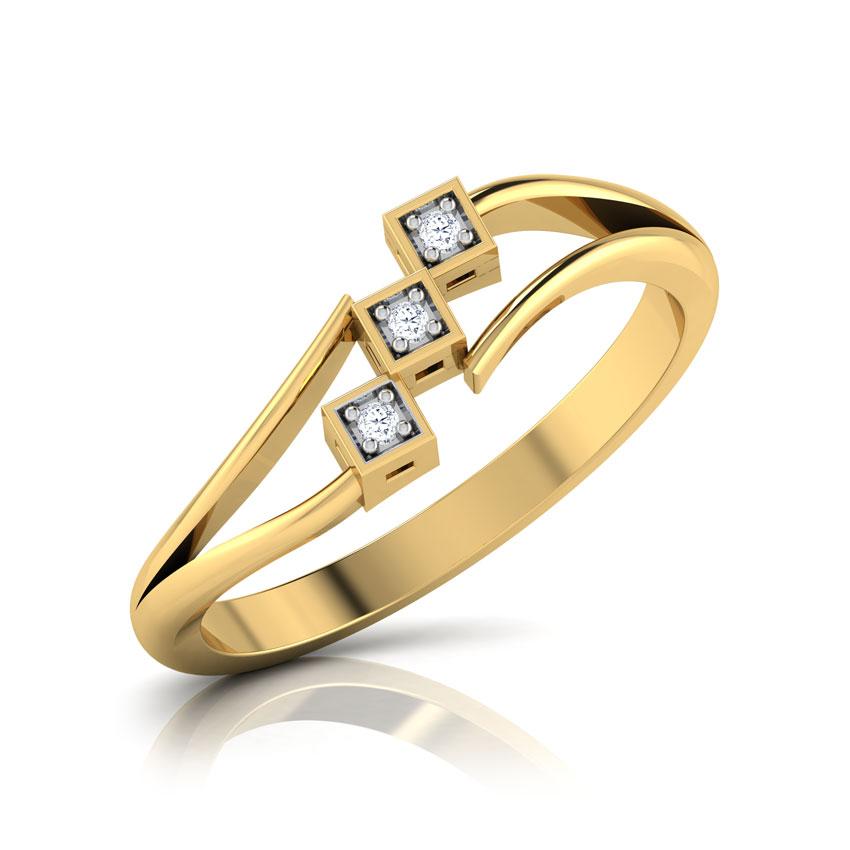 Trine Diamond Ring