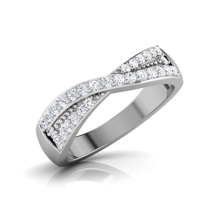 Diamond Rings 18 Karat White Gold Tranquil Diamond Ring