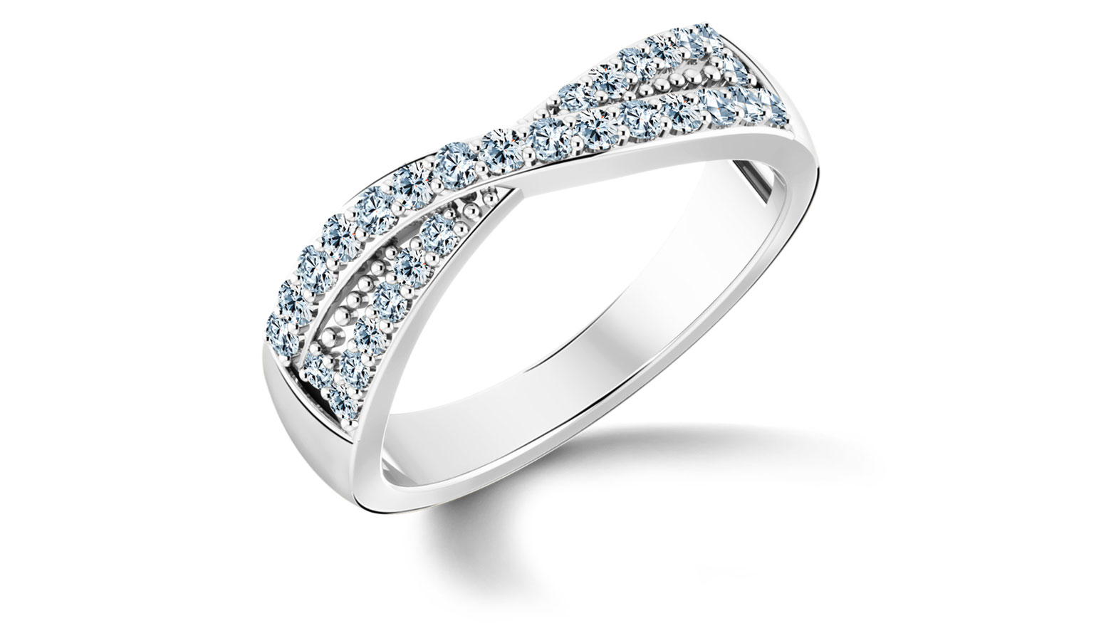 Diamond Rings 18 Karat Yellow Gold Tranquil Diamond Ring