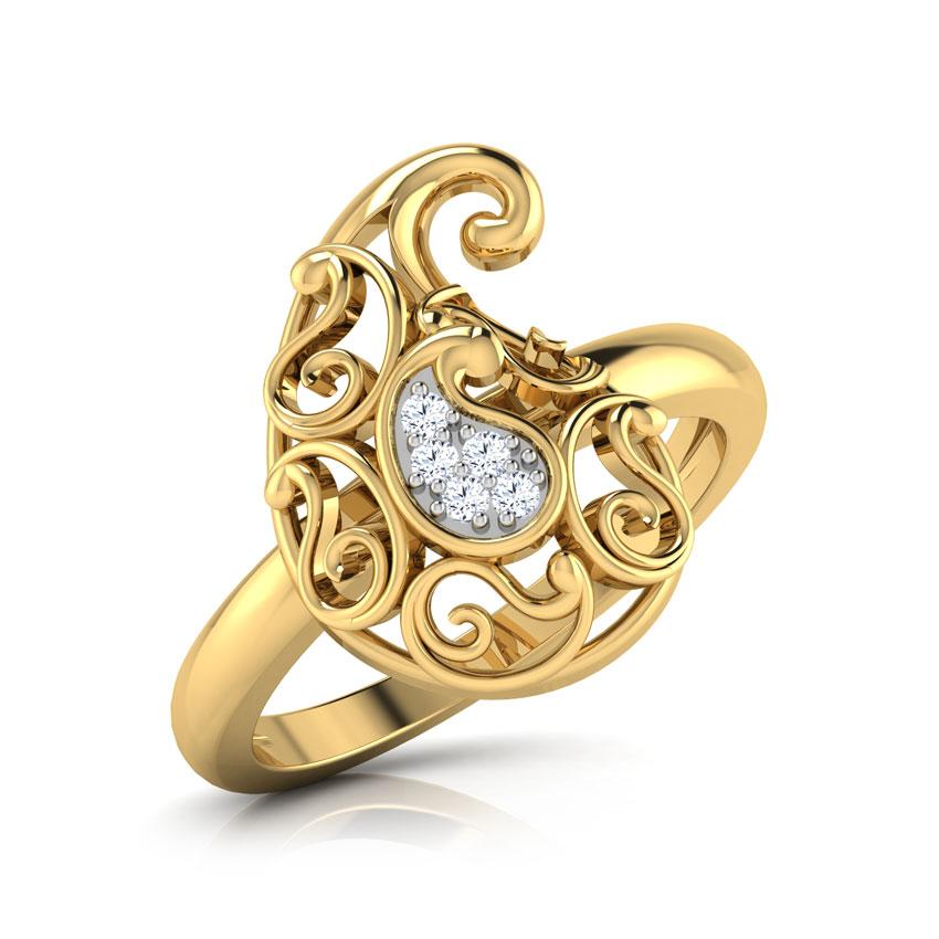 Ethea Paisley Ring