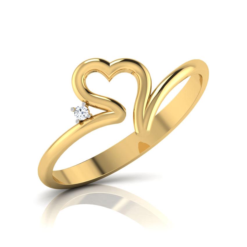 Soliel Heart Ring