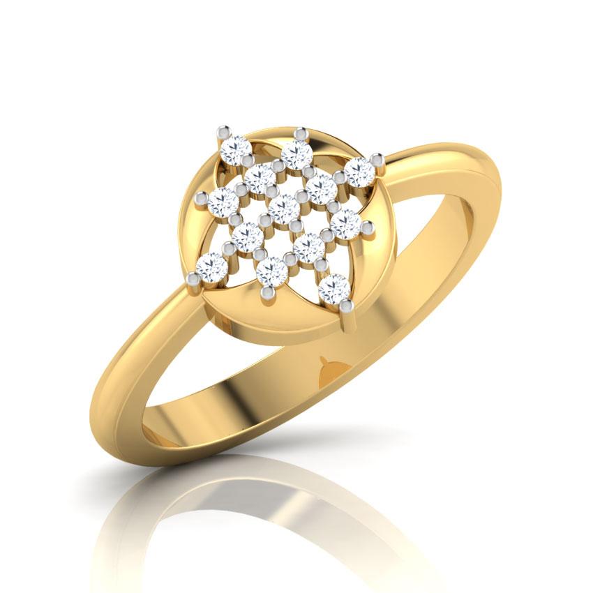 Diadem Diamond Ring