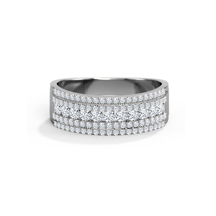 Debonair Diamond Band
