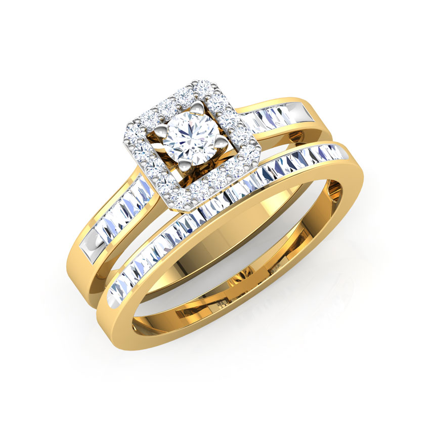 Sparkle Bridal Ring set