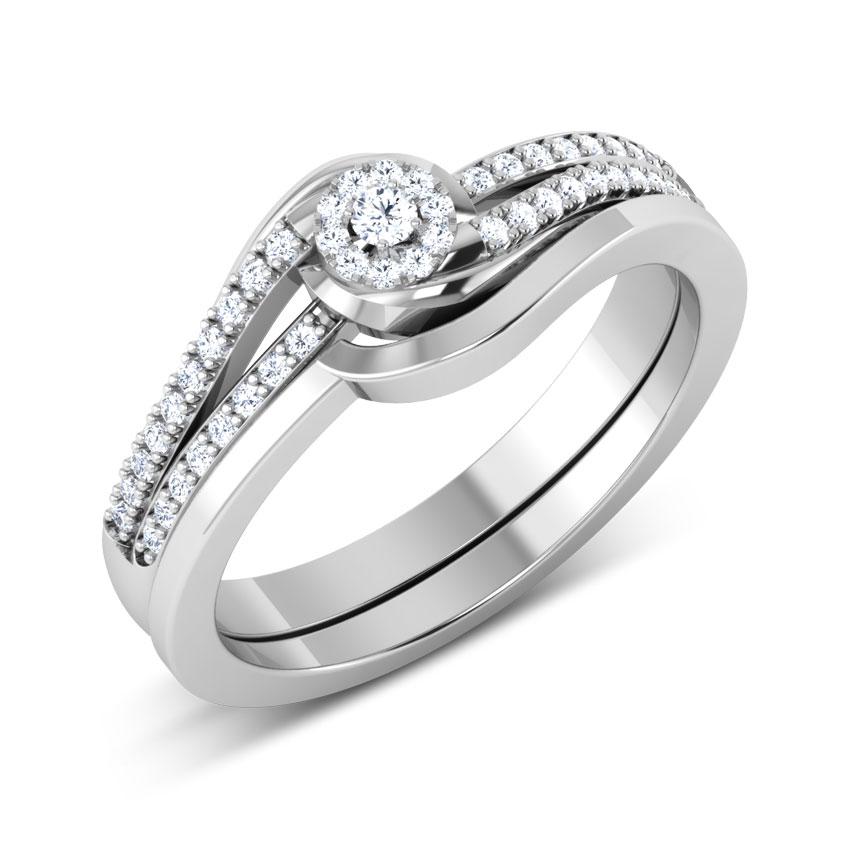 Elite Solitaire Bridal Ring Set