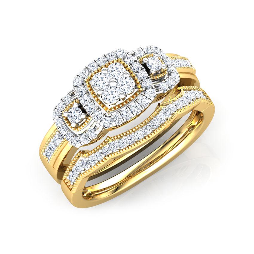 Splendour Bridal Ring Set