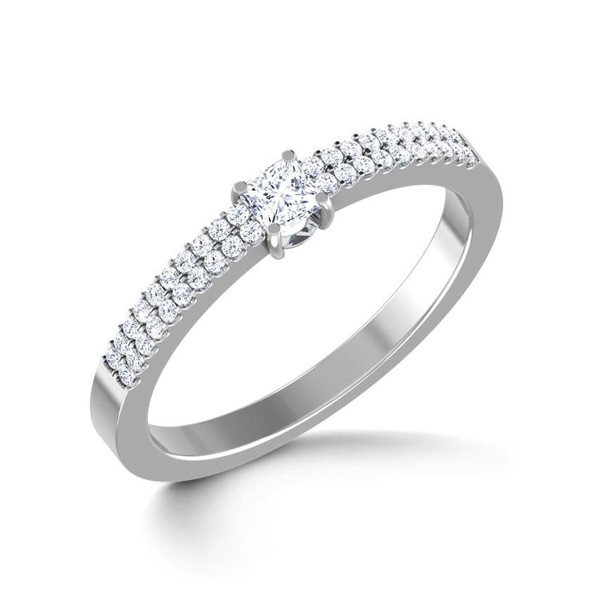Glossy Diamond Ring