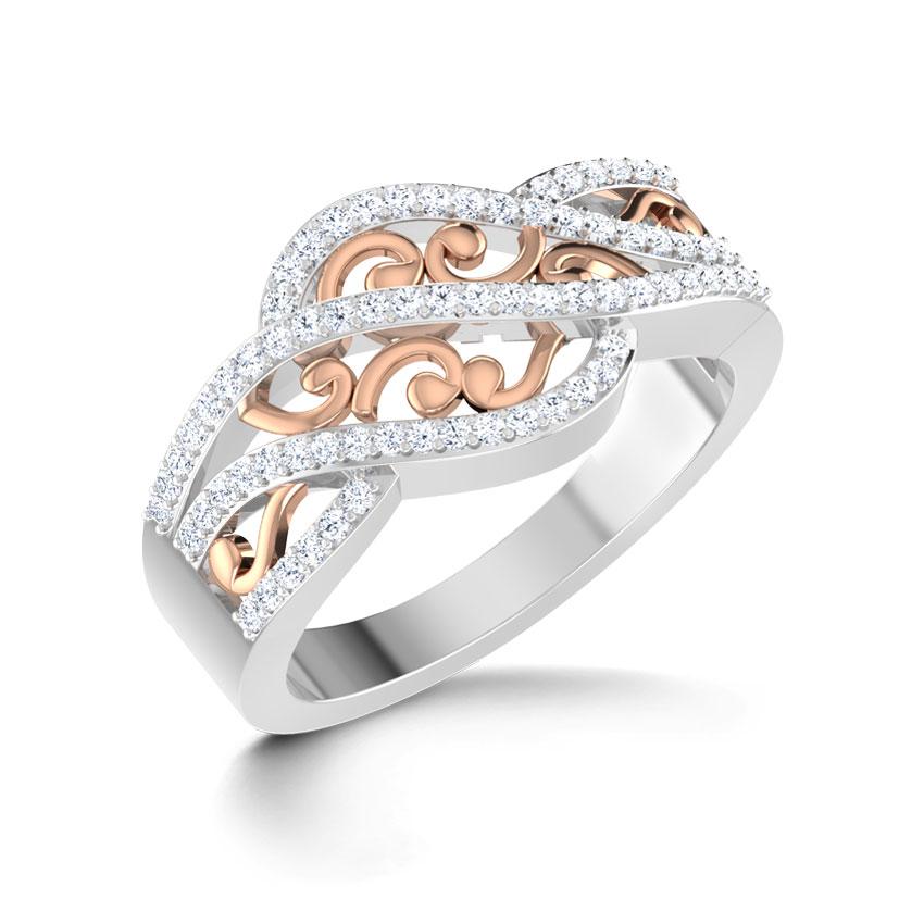 Spring Swirl Ring