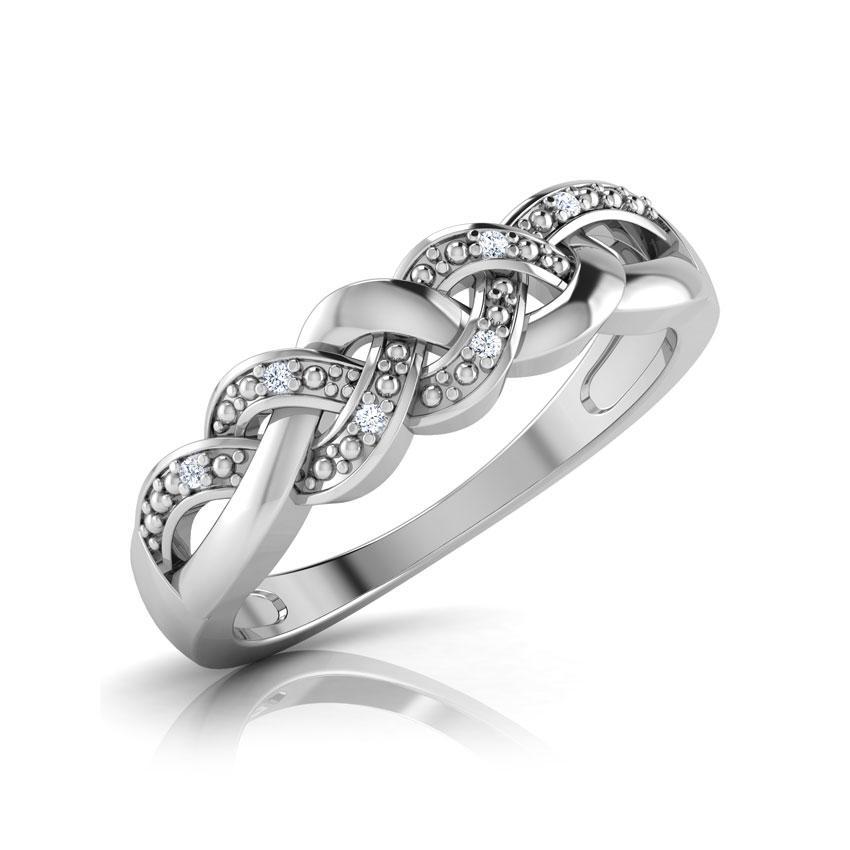 Diamond Rings 14 Karat White Gold Nina Diamond Band