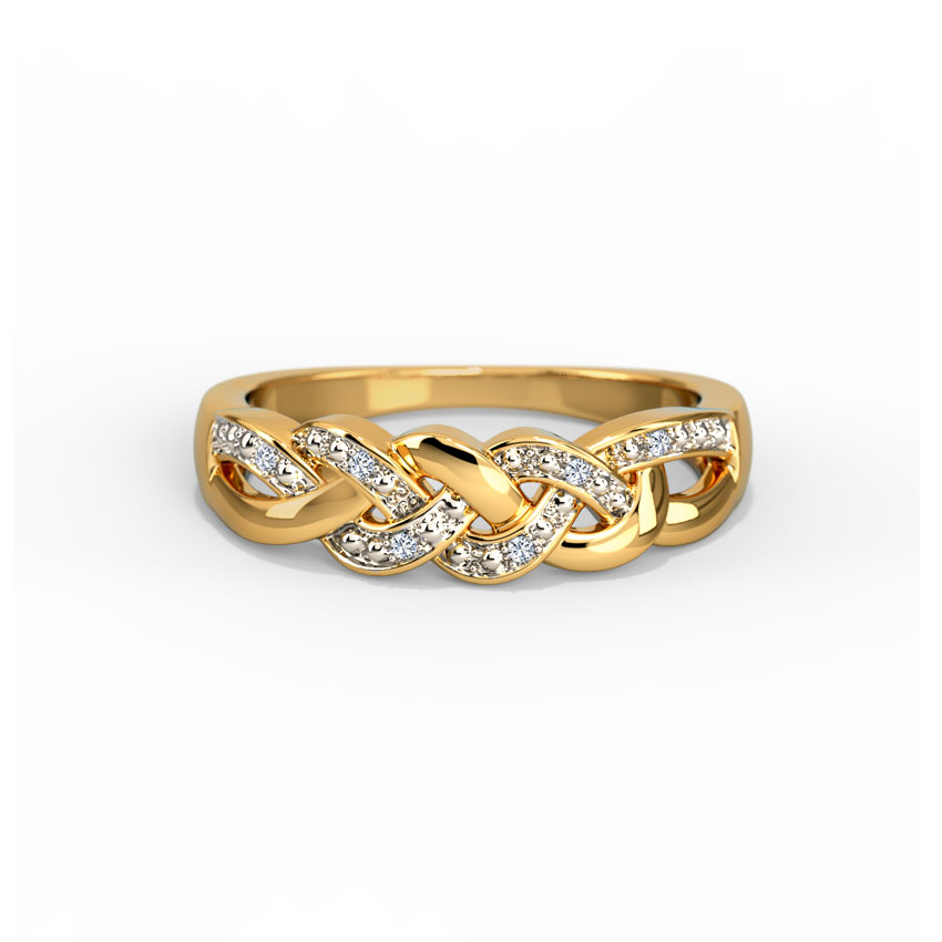 Nina Diamond Band Jewellery India line CaratLane