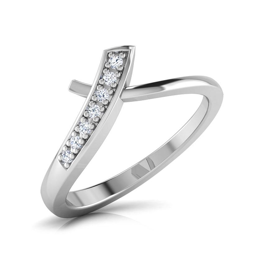 Diamond Rings 18 Karat White Gold Emilly Diamond Ring