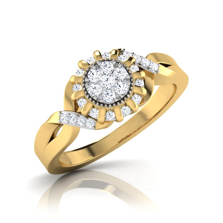 Swish Ray Ring