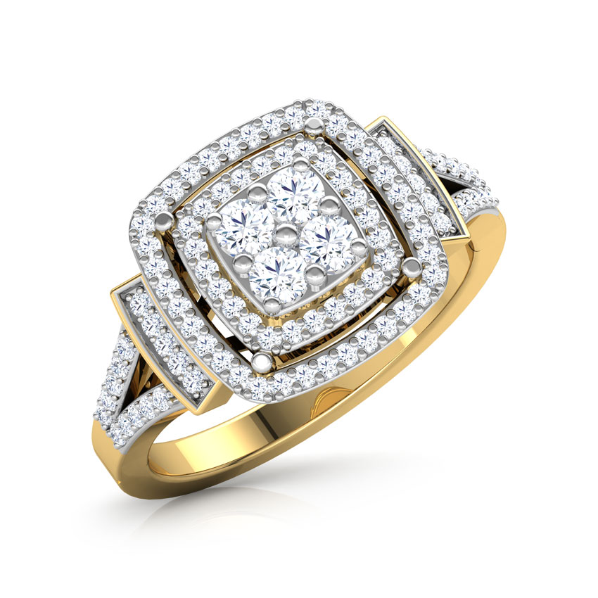 Two Row Square Ring