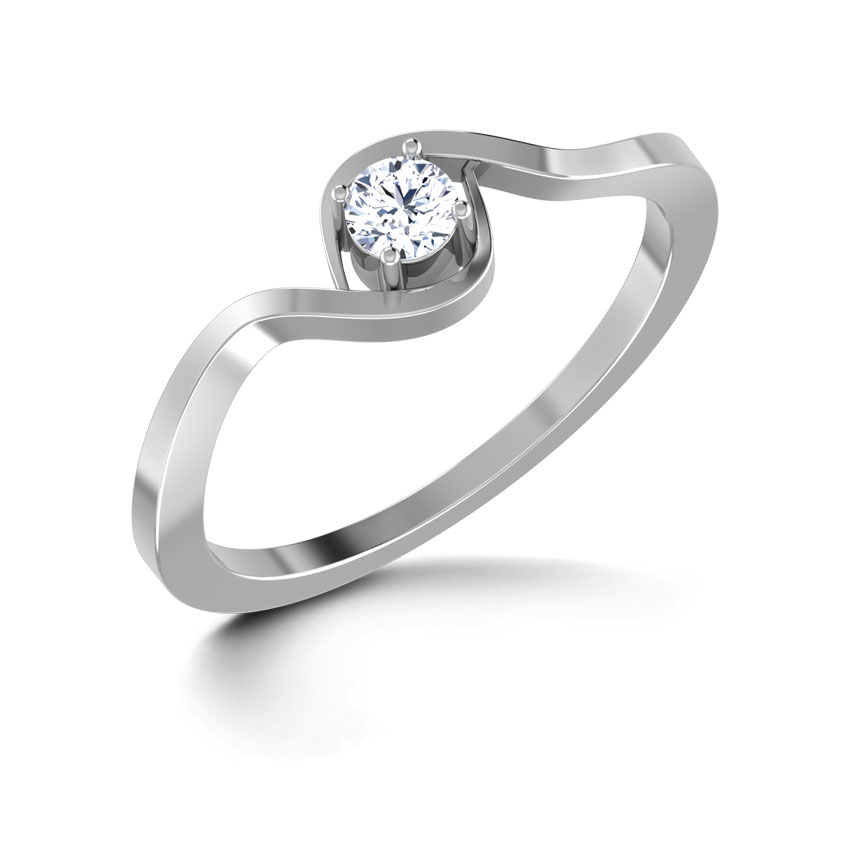 True Love Platinum Ring