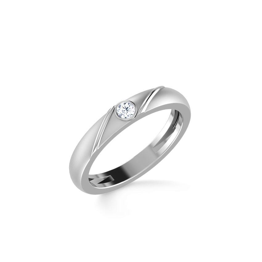 Platinum,Diamond Rings Platinum 950 Platinum Robert Platinum Ring for Men