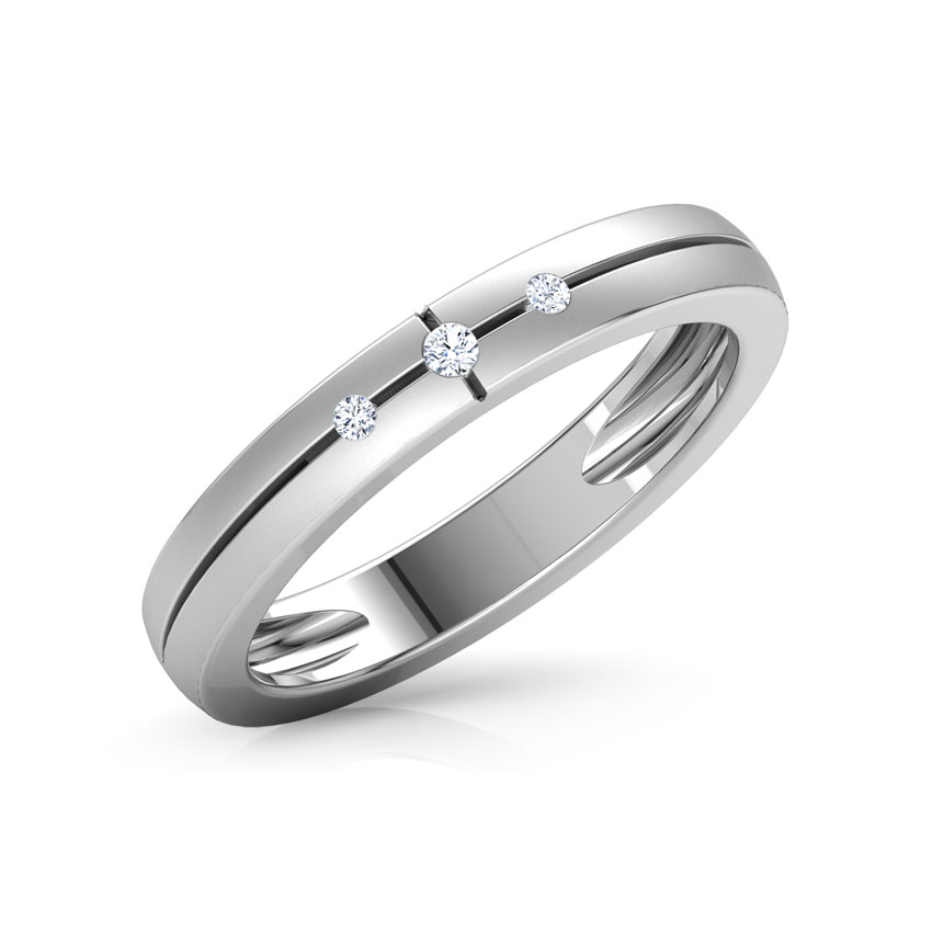 Steffi Platinum Ring for Women