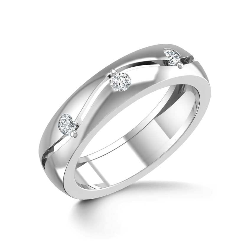Andrea Platinum Ring