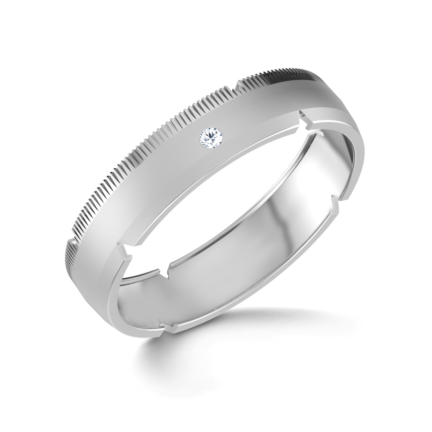 Bella Platinum Band for Her