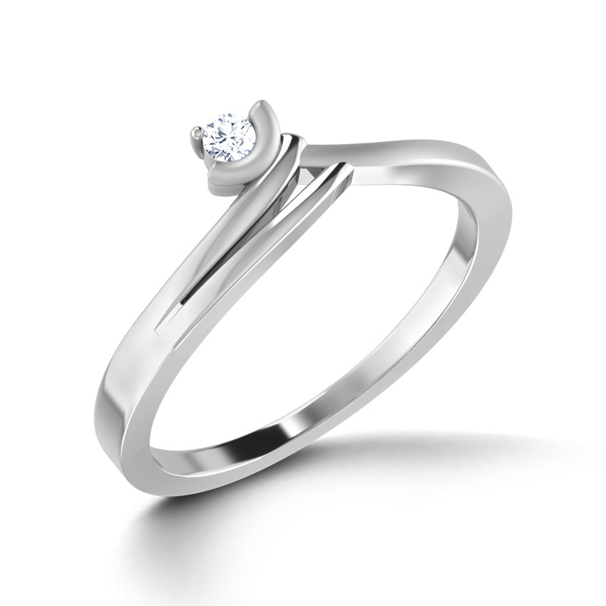 Ecstacy Platinum Ring