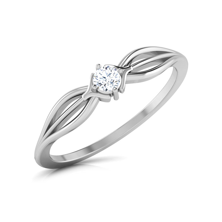 Diamond Rings 18 Karat White Gold Bounty Diamond Ring