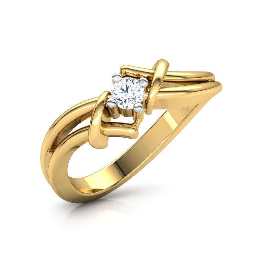 Diamond Rings 18 Karat Yellow Gold Providence Diamond Ring