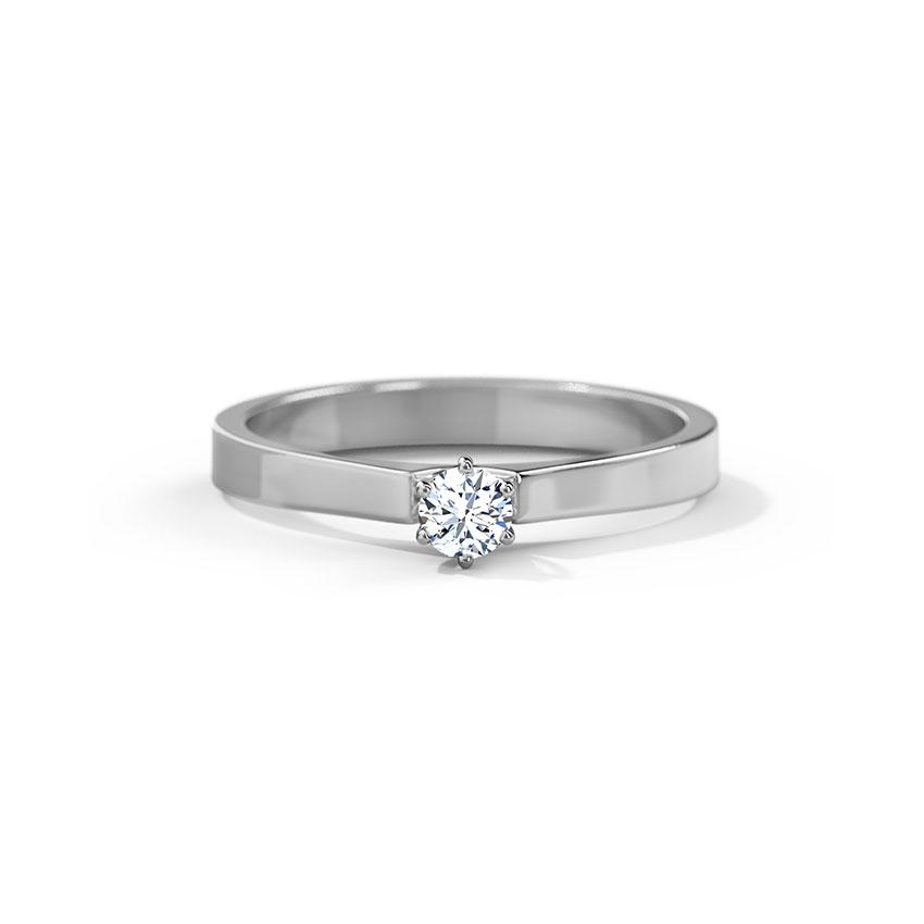 Jade Platinum Ring