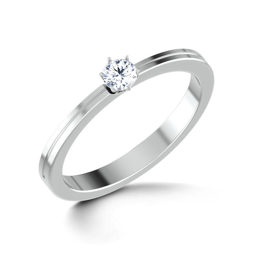 Eva Platinum Ring