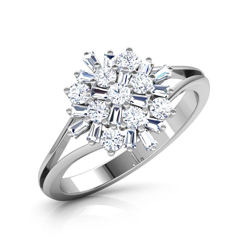 Diamond Rings 18 Karat White Gold Phoenix Diamond Ring