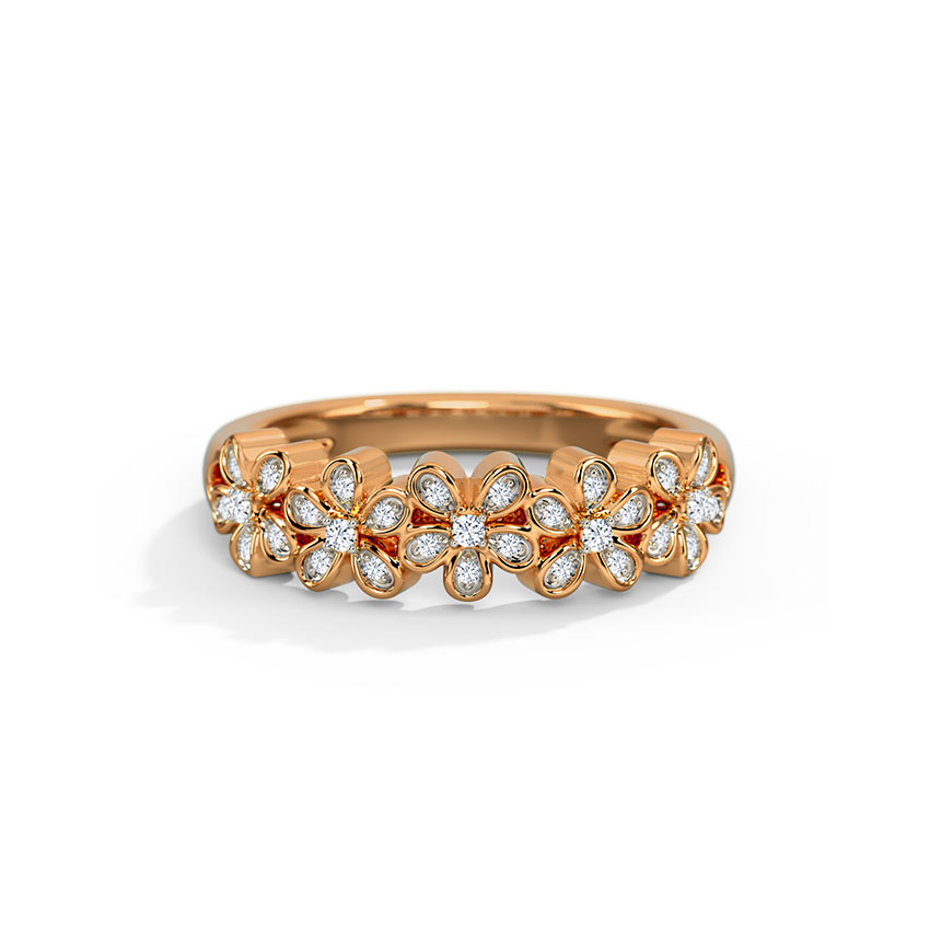 Forget Me Not Diamond Band