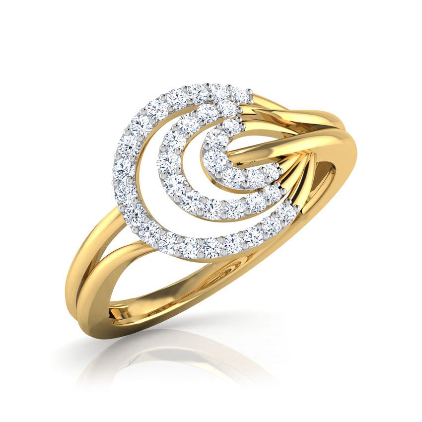 Luna Ripple Ring