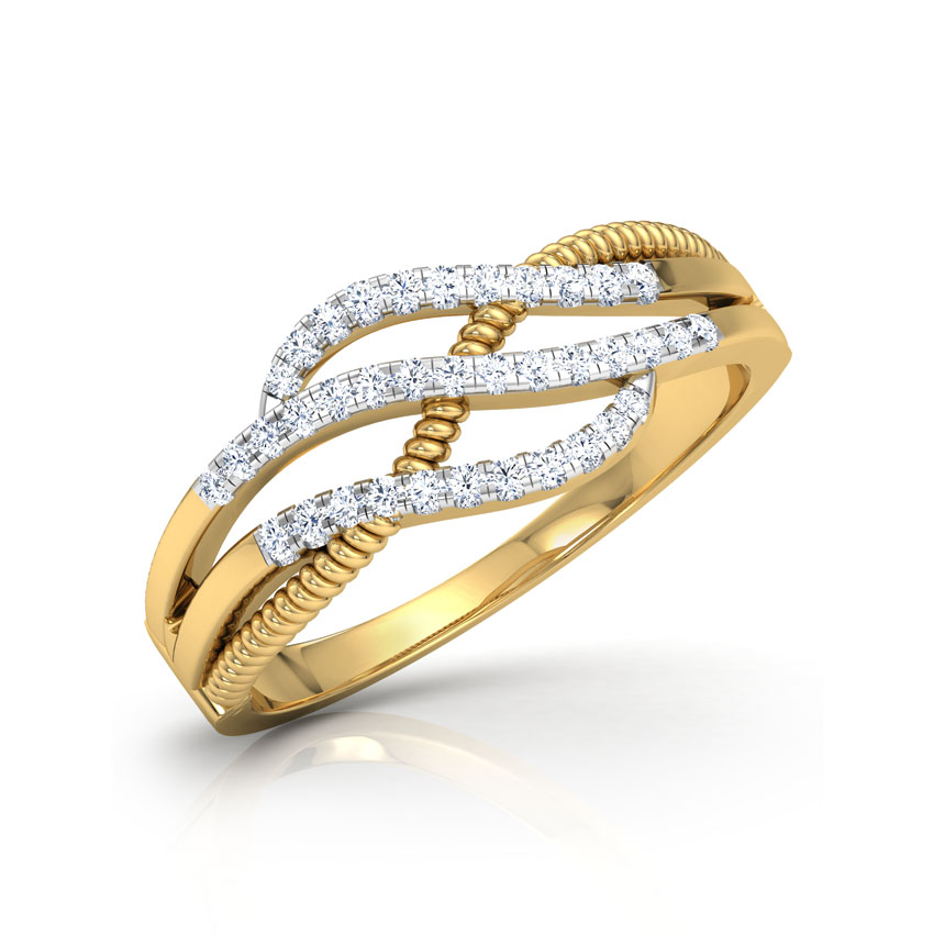 Ava Cabled Ring
