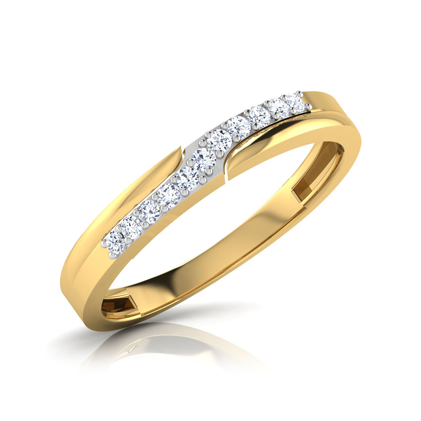 Goldie Sparkle Diamond Band
